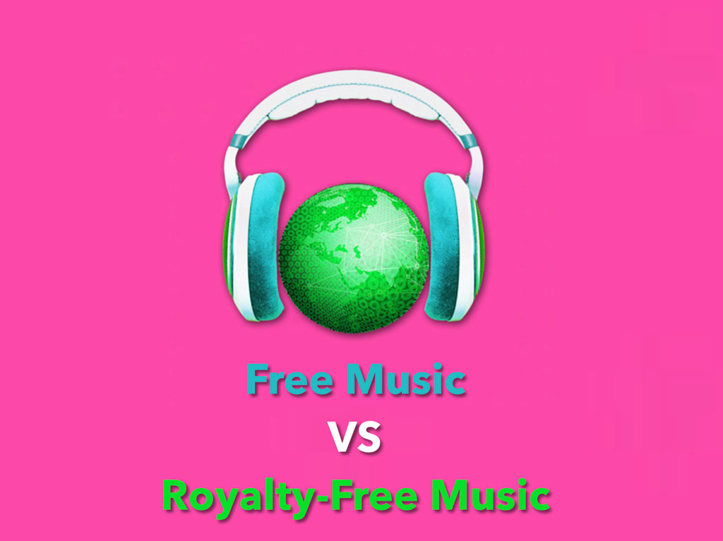 Non-copyrighted Free music VS Royalty-Free music under licenses